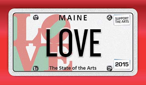 New Maine Specialty Plate