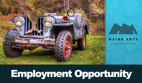 Maine Arts Commission Employment Opportunity
