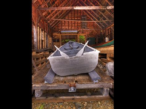 Ben's Camp - Rangeley Boat